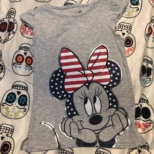 Girls 4th of July top